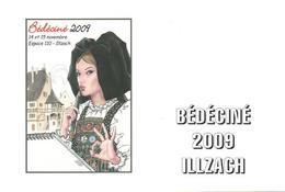 BEDECINE 2009 à ILLZACH Carte Postale Luxe Illustration MANARA Festival Bande Dessinée Strip Comics - Comics