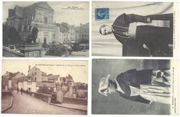 4 Cpa Vannes - Mgr Gouraud, Entrée De La Ville, Costume, Chapelle ...    ( S.3078 ) - Vannes