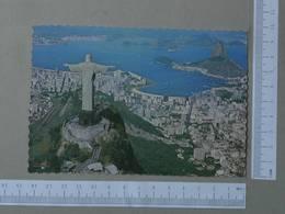 BRASIL - VISTA AEREA -  RIO DE JANEIRO -   2 SCANS  - (Nº26009) - Rio De Janeiro