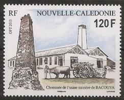 Nouvelle-Calédonie 2013 - Cheminée De L'usine Sucrière De Bacouya - Nueva Caledonia