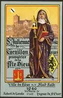Ville De Liège - Ste Julienne De Cornillon , Promotrice De La Fête Dieu - Luik