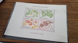 LOT 421727 TIMBRE DE MONACO NEUF** LUXE - Blocks & Sheetlets