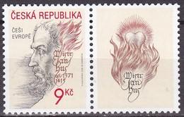 2002, Tschechische Republik, Ceska, 328, Jan Hus. MNH ** - Tschechische Republik