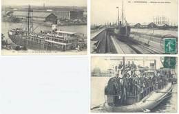 3 Cpa Dunkerque - Bateau, Contre Torpilleurs, Marins  ...    ( S.3080 ) - Dunkerque