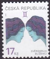 2002, Tschechische Republik, Ceska, 329, Tierkreiszeichen. MNH ** - Tschechische Republik