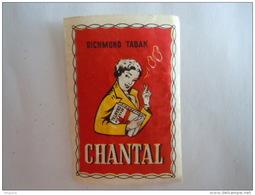Matchbox Label Etiket CHANTAL Cigaret Sigaretten Cigarettes Richmond Tabak - Matchbox Labels
