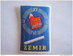 Matchbox Label Etiket ZEMIR Cigaret Sigaretten Cigarettes Horloge - Boites D'allumettes - Etiquettes