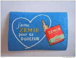 Matchbox Label Etiket ZEMIR Cigaret Sigaretten Cigarettes J'aime Zemir Pour Sa Douceur - Matchbox Labels