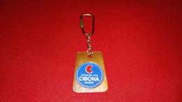 VINTAGE KEYCHAIN BASKETBALL CLUB CIBONA ZAGREB - Portachiavi
