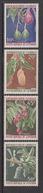 1973 Cameroun Fruits Avocado, Mago, Plums Custard Apple Set Of 4 MNH - Kamerun (1960-...)
