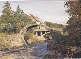 Postcard - The Old Bridge, Carrbridge, Inverness Shire - Card No.PIN-84221 - VG - Postcards
