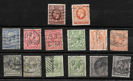 Great Britain KGV Small Selection All Perfins *see Notes* (6815) - Great Britain