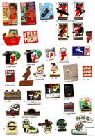 2 Pin's Au Choix_Média_Presse Magazine TV_ Télé Poche_Télé Star_Télé 7 Jours_Télérama - Medias