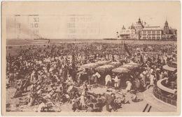 Ostende - La Plage Et Le Kursaal / Strand En Kursaal - (1938) - Oostende