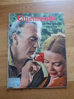 CINEMONDE N° 1185 Du 25/4/57 G.LOLOBRIGIDA ET S.LOREN (6p) - MARTINE CAROL (2p) - MARILYN MONROE - J.MANSFIELD - Cinema