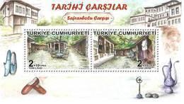Turkey - 2018 - Historical Bazaars - Safranbolu - Mint Souvenir Sheet - Nuevos