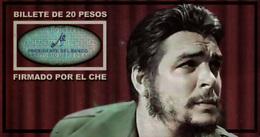 CUBA CARPETA CONMEMORATIVA DEL CHE 20 PESOS 1961 UNC PICK 97A - Cuba