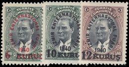 Turkey 1940 International Fair Fine Unmounted Mint. - 1921-... Republic