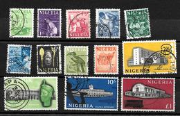 Nigeria 1961 Pictorial Definitives, Complete Set Used (6768) - Nigeria (1961-...)