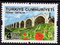 Turkey - 2018 - Antalya - Perge Viaduct - Mint Definitive Stamp - Nuevos