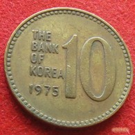 Korea South 10 Won 1975 KM# 6a  Corea Coreia Do Sul Koree Coree - Corée Du Sud