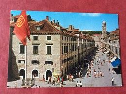 Joegoslavië Jugoslavija. Dubrovnik. Stradun - Yougoslavie