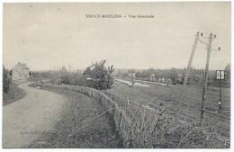 89 - Toucy-Moulins - Vue Générale Avec La Gare- Années 1910s - Toucy