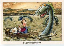 Iceland/Islande/Ijsland/Island Postcard Lagarfljótsormurinn Unused - Iceland
