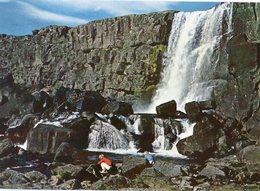 Iceland/Islande/Ijsland/Island Postcard Öxárfoss Þingvellir Unused - Iceland