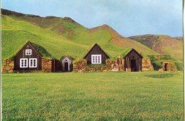 Iceland/Islande/Ijsland/Island Postcard Regional Museum At Skógar Unused - Iceland