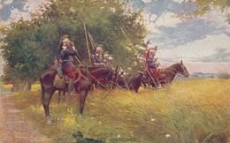 CPA - Thèmes - Militaria - Guerre 1914-18 - Les Dragons - Guerre 1914-18