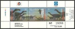 MICRONESIA 1994 PHILAKOREA STAMP EXHIBITION PREHISTORIC DINOSAURS BIRDS M/SHEET MNH - Micronesia