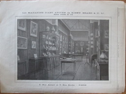 1912 Publicité   Magasin  Kirby Beard 5 Rue Aubert Paris  7 Rue Scribe - Advertising