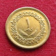 Libya 1 Dirham 1975 KM# 12  Libia Libye UNCºº - Libye