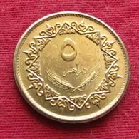 Libya 5 Dirham 1975 KM# 13 Lt 595  Libia Libye - Libië