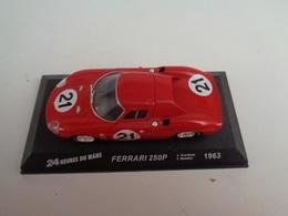 FERRARI 250 P . Vainqueur 24 H Du Mans 1963 . # 21  L.Scarfiotti,L.Bandini   1/43 -Altaya - Voitures, Camions, Bus