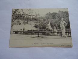 CPA Nimes - Jardin De La Fontaine - Nîmes