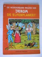 De Wonderbare Reizen Van Jerom  Nr 7 De Elfenplaneet 1 Ste Druk 1983 Goede Staat Kaft Lichtjes Beschadigd Vandersteen - Jerom