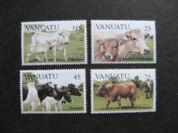VANUATU: TB  Série N° 695 Au N° 698, Neufs XX. - Vanuatu (1980-...)