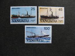 VANUATU: TB  Série N° 699 Au N° 701, Neufs XX. - Vanuatu (1980-...)