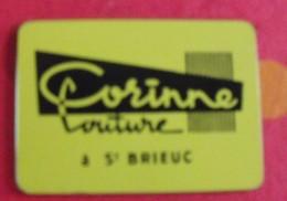 Miroir Publicitaire, De Sac, De Poche Ou De Courtoisie. Corinne Coutue à St Brieuc. 1950 - Other