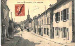 FONTENAY EN PARISIS ... LA GRANDE RUE - France