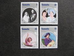 VANUATU: TB  Série N° 714 Au N° 717, Neufs XX. - Vanuatu (1980-...)