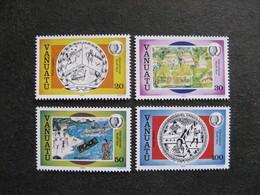 VANUATU: TB  Série N° 722 Au N° 725, Neufs XX. GT. - Vanuatu (1980-...)