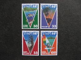 VANUATU: TB  Série N° 731 Au N° 734, Neufs XX. - Vanuatu (1980-...)