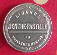 Miroir Publicitaire, De Sac, De Poche Ou De Courtoisie. Liqueur Menthe-pastille. 1950 - Other
