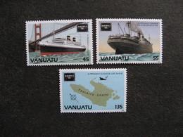 VANUATU: TB  Série N° 740 Au N° 742, Neufs XX. - Vanuatu (1980-...)