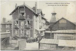 60 - MONTATAIRE (Oise) - Fabrication De Bière Du Nord Et Cidre - Commerce De Vins Et Spiritueux. Brasserie H. GRYSON. - Montataire