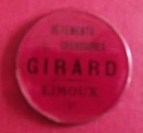 Miroir Publicitaire, De Sac, De Poche Ou De Courtoisie. Vêtements Chaussures Girard à Limoux. 1950 - Other