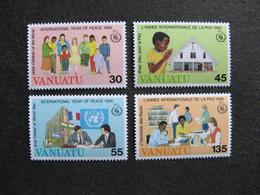 VANUATU: TB  Série N° 751 Au N° 754, Neufs XX. - Vanuatu (1980-...)